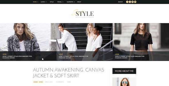 Street Style - Fashion & Lifestyle Personal Blog WordPress Theme