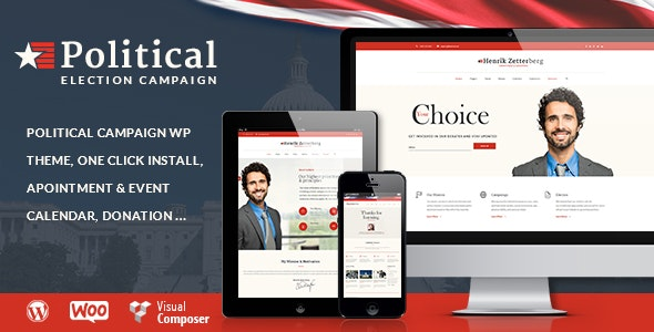 Candidate - Political / Non-profit WordPress Theme - Political Nonprofit