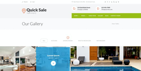 Browse 2 Fsbo Templates From 17 Sorted By Best Ers All Created Our Global Community Of Independent Web Designers And Developers