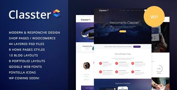 Classter | A Colorful Multi-Purpose WordPress Theme - Miscellaneous WordPress