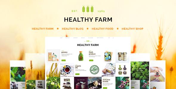 Healthy Farm | Food & Agriculture WordPress Theme - Retail WordPress