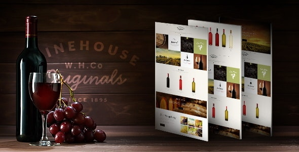 Wine House | Vineyard & Restaurant WordPress Theme