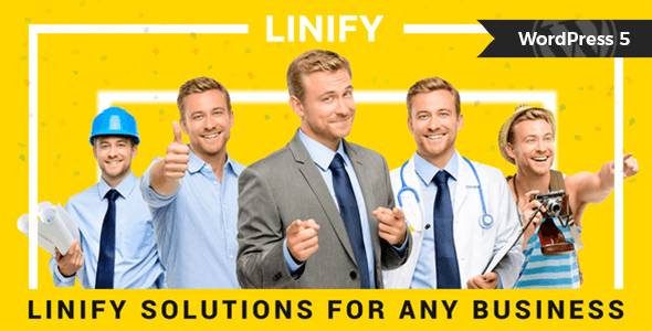 Linify - One Man Business WordPress Theme - Business Corporate