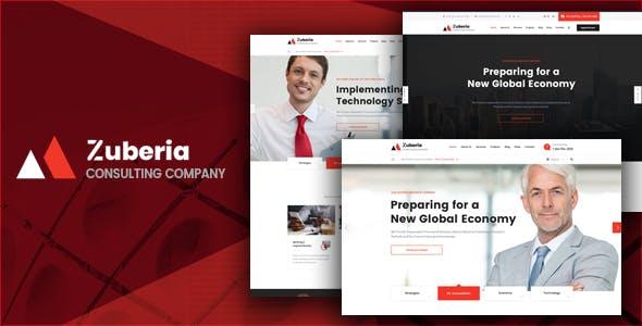 Zuberia - Business HTML Template