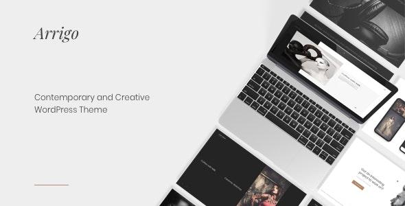 Arrigo – Contemporary Creative Portfolio Elementor WordPress Theme - Portfolio Creative
