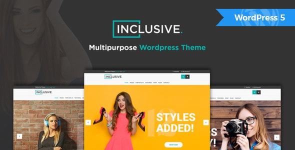 Inclusive - Fashion Shop WordPress Theme - WooCommerce eCommerce