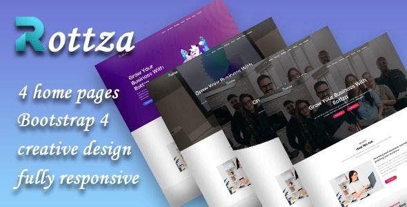Rottza - Agancy HTML Template - Creative Site Templates