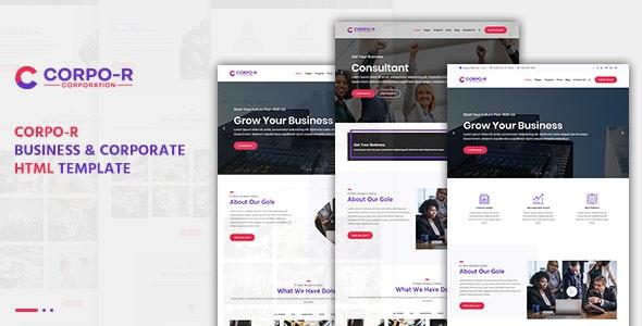 Corpo-R Business & Corporate HTML Template - Corporate Site Templates