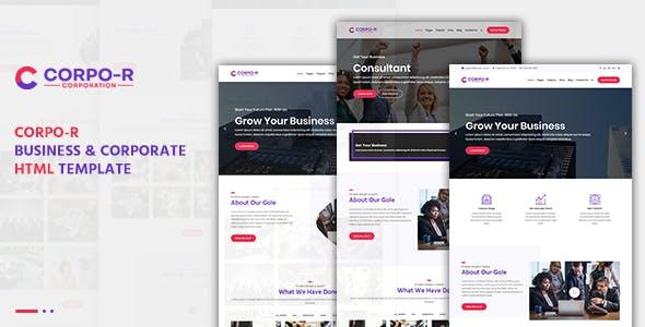 Corpo-R Business & Corporate HTML Template