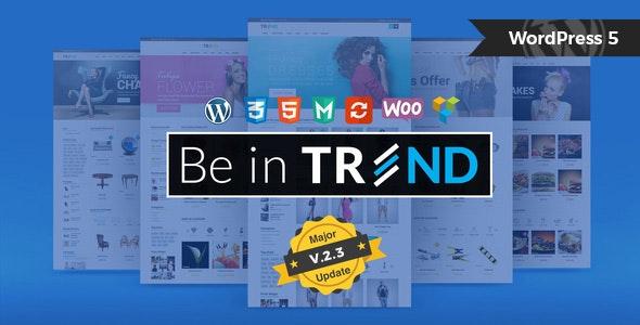 Trend - Multipurpose / Fashion / Restaurant / Construction / Modern Shop WooCommerce WordPress Theme - WooCommerce eCommerce
