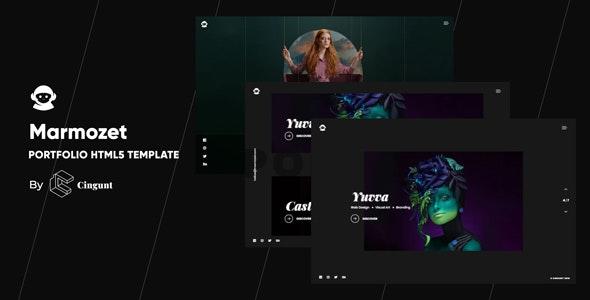 Marmozet - Portfolio Showcase HTML5 Template - Portfolio Creative