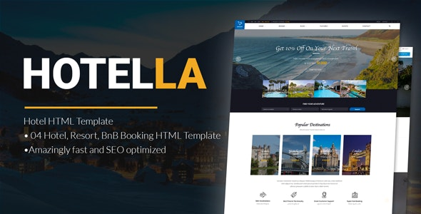 LuxStay | Hotel HTML Template - Travel Retail