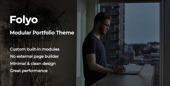 Folyo - Modular Portfolio Theme - Creative WordPress