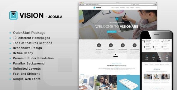 Vision - Multipurpose Joomla Template - Business Corporate