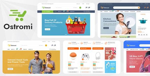 Ostromi - Organic Electronics Shop HTML Template - Shopping Retail