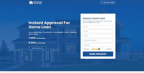 EasyLoan - Loan Company Website Templates