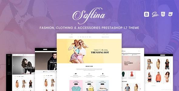 Softina - Fashion, Clothing & Accessories PrestaShop 1.7 Theme - Fashion PrestaShop