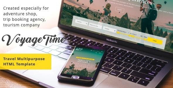 VoyageTime - Tour & Travel Agency HTML5 Template - Travel Retail