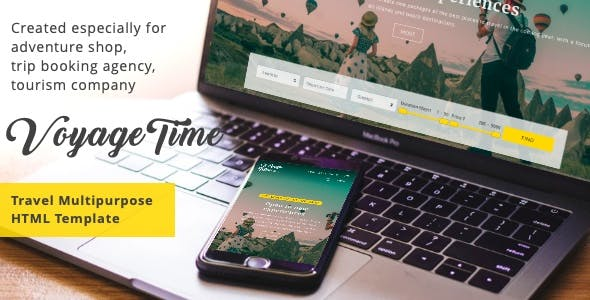 VoyageTime - Tour & Travel Agency HTML5 Template