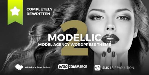 Modellic - WooCommerce & Booking Model Agency WordPress Theme