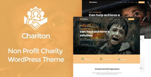 Chariton - NonProfit Fundraising Charity WordPress Theme - Charity Nonprofit