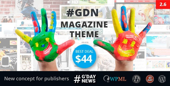 GDN Magazine Theme - News / Editorial Blog / Magazine