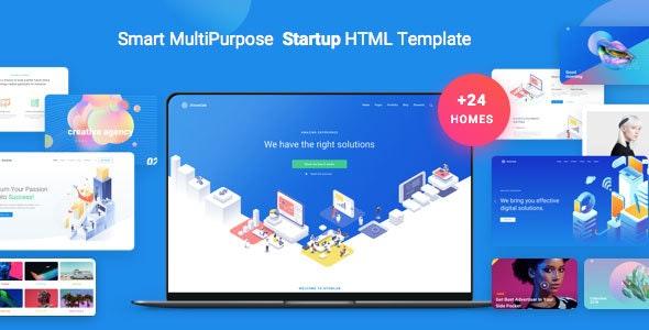 Atomlab - Multi-Purpose Startup HTML Template - Business Corporate