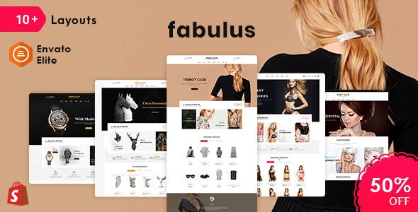Fabulus - Shopify Multi-Purpose Responsive Theme - Shopping Shopify