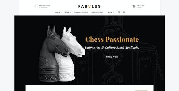 Fabulus - Shopify Multi-Purpose Responsive Theme