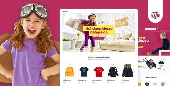 Uneno - Kids Clothing & Toys Store WooCommerce Theme - WooCommerce eCommerce