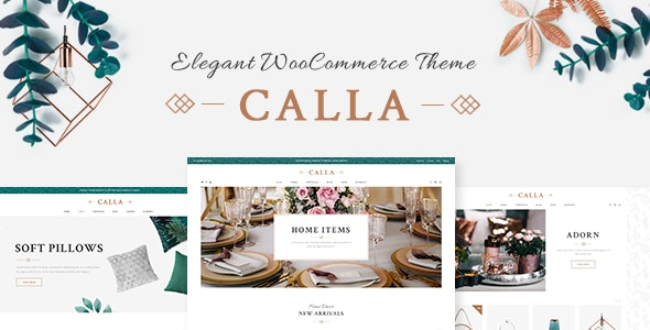 Calla - Elegant Home Decoration Shop - WooCommerce eCommerce