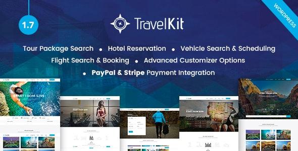 Travelkit - The Full-fledged Tour & Travel WordPress Theme - Travel Retail