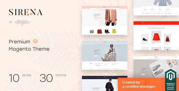 Sirena - Multi-Purpose Responsive Magento 2.4.0 Theme - Shopping Magento