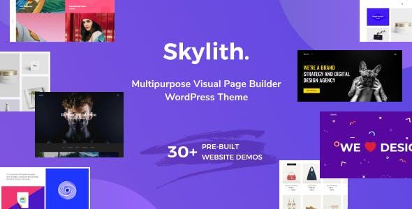 Skylith | Multipurpose Gutenberg WordPress Theme - Portfolio Creative