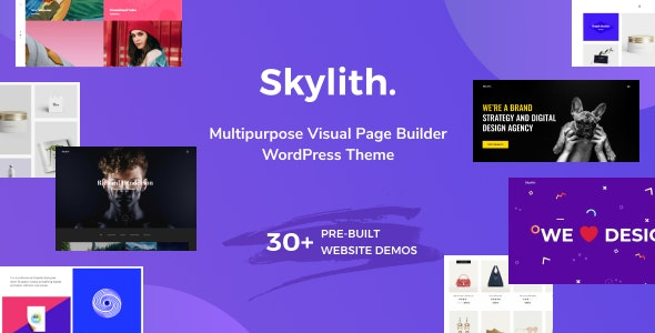 Skylith | Multipurpose Gutenberg WordPress Theme - Portfolio Creative