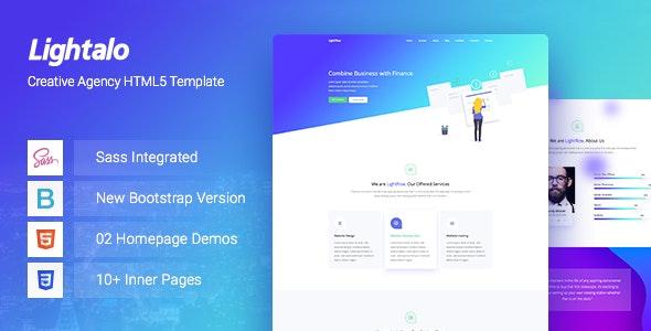 LightAlo - Creative Agency HTML5 Template - Creative Site Templates