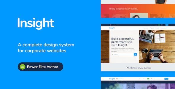 Insight - Modular Responsive WordPress Theme for Business