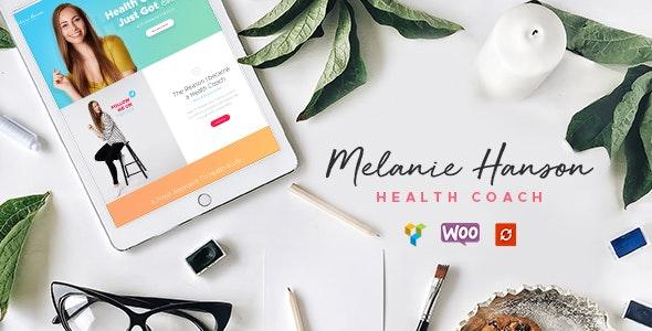 Health Coach Blog & Lifestyle Magazine WordPress Theme - Personal Blog / Magazine