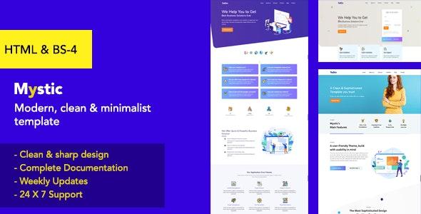 Tadhin - Clean, Modern & Minimalist Multipurpose Template - Business Corporate
