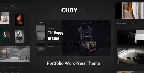 Cuby - Portfolio WordPress Theme - Portfolio Creative