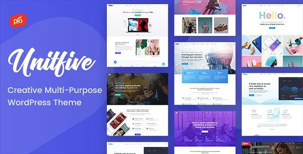Unit Five - Creative Multi-Purpose Theme + RTL - Business Corporate