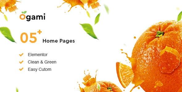 Ogami - Organic Store & Bakery WordPress Theme - WooCommerce eCommerce