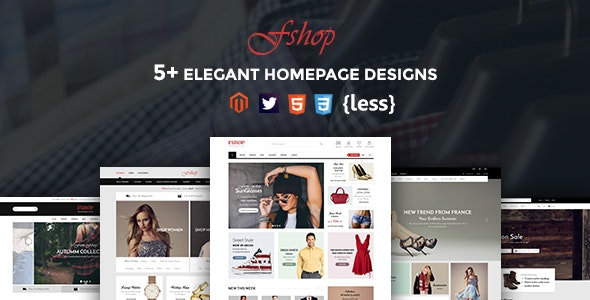 Fshop - Responsive Magento 2 Fashion Store Theme - Shopping Magento