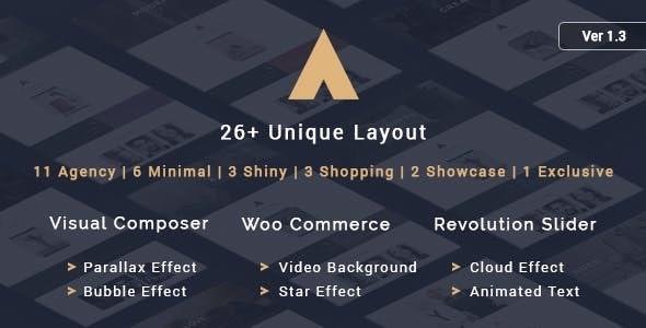 Agency - A Theme for Freelancers - Creative WordPress