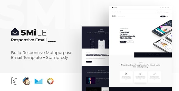 Smile - Responsive Email + StampReady Builder - Email Templates Marketing