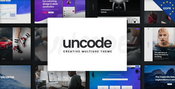 Uncode - Creative Multiuse WordPress Theme - Creative WordPress