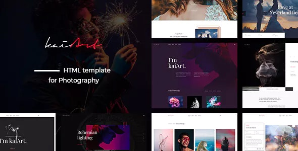 kaiArt - Responsive HTML Template for Photography - Photography Creative