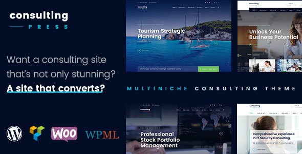 ConsultingPress - Multi Niche Consulting WordPress Theme by