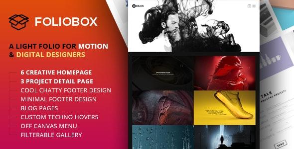 Foliobox - Portfolio HTML Template - Portfolio Creative