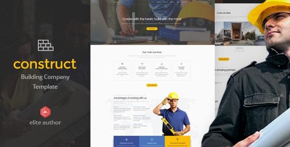 Construct - Construction & Building Joomla Template - Business Corporate